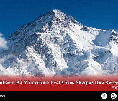 10 Nepali Sherpas became the first to scale Mount K2 in winter.