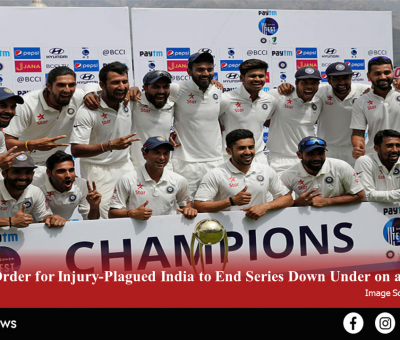 Tall Order for Injury-Plagued India to End Series Down Under on a High