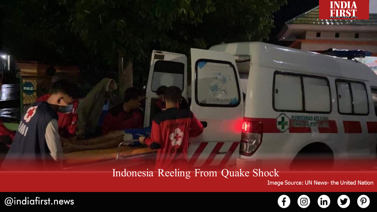 Indonesia Reeling From Quake Shock