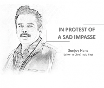 IN PROTEST OF A SAD IMPASSE