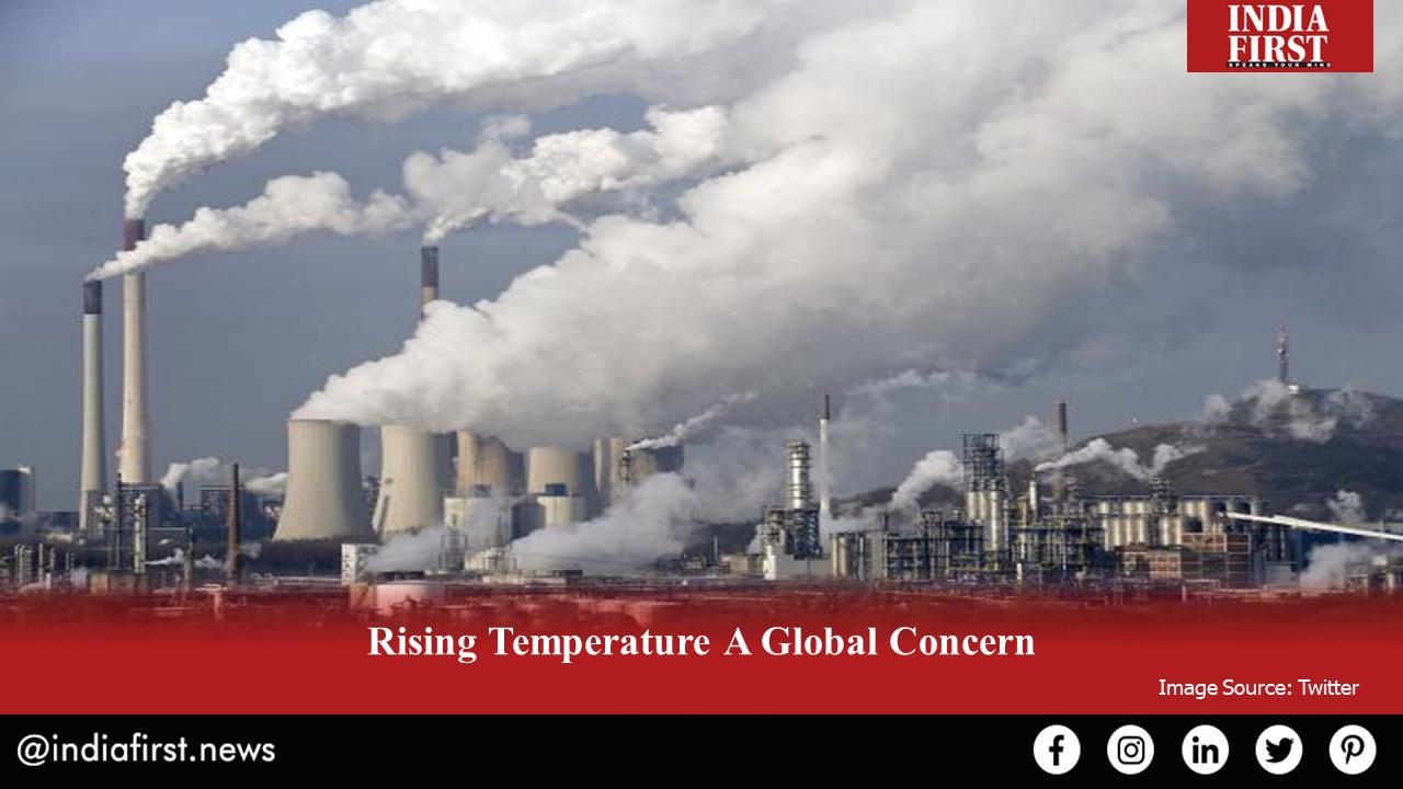 Rising Temperature A Global Concern