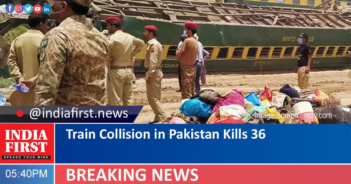Train Collision in Pakistan Kills 36